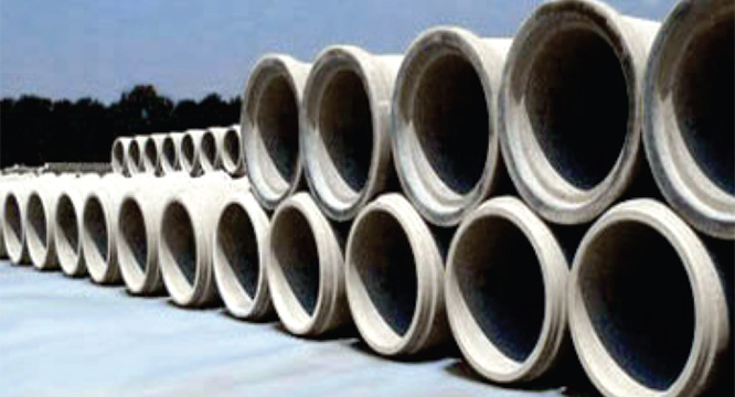 Hindustan cement pipes concrete works nashik for Types of water pipes