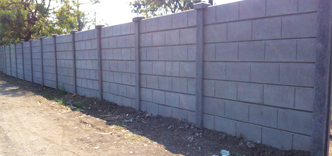 Pre-Stressed Readymade Boundary Walls